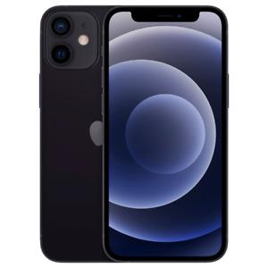 Apple iPhone 12 Mini 5G 64GB Black Smartphone T-Mobile MG703LL/A