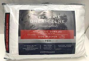 Wamsutta Dream Zone Synthetic Down Side Sleeper Pillow