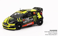 FORD FIESTA RS WRC N.46 WINNER MONZA 2017 V.ROSSI-C.CASSINA 1:43 RAM658 IXO