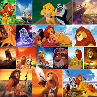 Diamond Painting 5D Full Drill Cross Stitch The Lion King Home Decor Embroidery