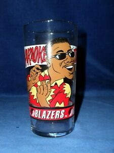 DAIRY QUEEN PORTLAND TRAILBLAZERS 92-93 JEROME KERSEY COLLECTIBLE GLASS