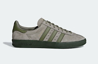 adidas Originals Broomfield Trainers in Green and Grey Vintage Shoes
