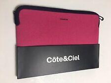 "Brand New Côte&Ciel Fuschia Pink Sleeve Carry Case Bag Zip Around Mac Book 11"""