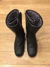 diadora motorcycle boots Size 6.5 Unisex Black