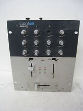 STANTON SMX-201 2-Channel Preamp Pro DJ Mixer Audiophile, SMX.201, NO AC Adapter