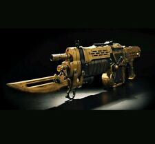 Gears of War 3 gow gow3 Gold Retro Lancer Replica gun statue xbox one game halo