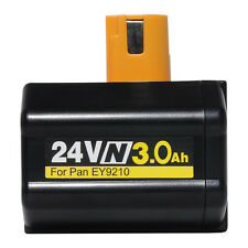 24Volt 3000mah EY9116B Battery for Panasonic Drill EY9210 EY6812 EY9242 EY9244