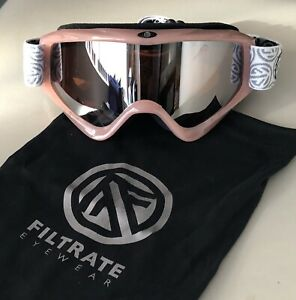 New Youth Girl's FILTRATE Double Lens Snowboard/Ski Pink Goggles