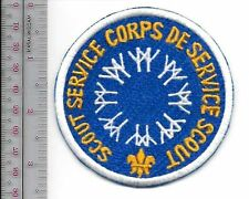 Boy Scouts of Canada Service Corps Montreal World's Fair EXPO 67 blue Patch