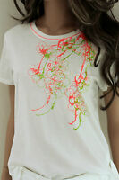 MARCCAIN Damen Shirt Baumwolle N5 N6 42 44 XL XXL weiß pink grün Top