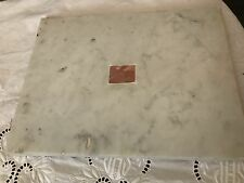 VERY RARE LARGE ANTIQUE CATHOLIC CHURCH ALTAR STONE 1st CLASS RELICS RELIQUARY