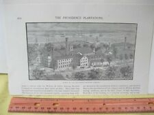 Vintage Print,PROVIDENCE MACHINE,American Industry,19th Cent