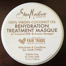 SheaMoisture Hair Rehydration Treatment Masque  Mask 100% Coconut Oil No Sulfate
