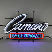 Camaro Neon Sign 2018 Chevrolet Chevy RS SS ZL1 Z28 garage wall lamp light 1967