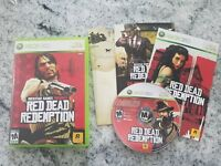 Red Dead Redemption (Microsoft Xbox 360, 2010)  W/ Map FAST SHIPPING