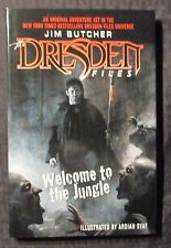 2008 DRESDEN FILES Welcome To The Jungle by Jim Butcher HC/DJ NM/VF 1st Del Rey