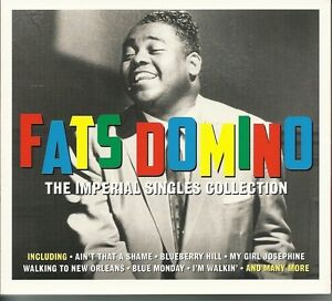 FATS DOMINO THE IMPERIAL SINGLES COLLECTION Inc AINT THAT A SHAME, MARGIE & MORE