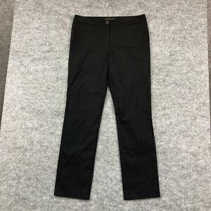 David Lawrence Womens Pants Size 14 Black Slacks Straight Zip 50.10