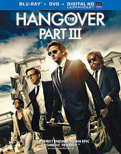 HANGOVER PART 3 (Blu-ray/DVD, 2013, 2-Disc Set, Includes Digital Copy) NEW