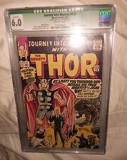 Journey into Mystery #113 stan lee signed cgc 6.0 fn (1965 Marvel)Origin of Loki