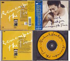 Michael Jackson REMEMBER THE TIME CD Maxi Single Remixes Collector JAPAN 1992