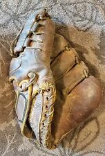 Old Antique Vintage Baseball Glove as found condition