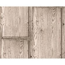 AS Creation Rustique Panneau En Bois Papier peint En relief Effet Faux Réaliste