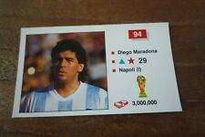 Merlin Italia 90 Football Sticker - Diego Maradona - Near Mint! Number 94