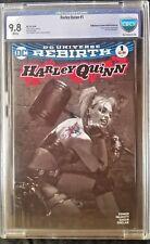 Harley Quinn (2016) #1 Bullet Proof B&W Variant CBCS (like CGC) 9.8
