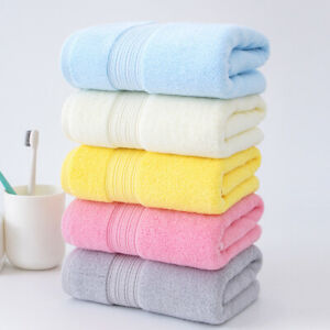 2pcs/lot Bath towel face towel hand towel foot towel pure cotton thicken towels