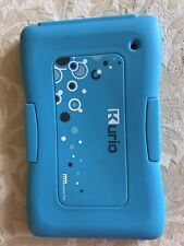 Blue Kurio Touch 4s Protective Case Bumper Silicon Skin For Tablet