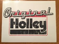 Tin Sign Vintage Original Holley Carburetors