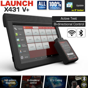 2021 LAUNCH X431 V+ PROS 4.0 FULL System Car ECU Coding Diagnostic Scan VCI OBD2