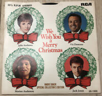 We Wish You a Merry Christmas 1968 Vinyl Record Radio Shack