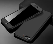 Front Back Full Case for iPhone 6 7 8 Plus Ultra Slim Hard Cover Tempered Glass