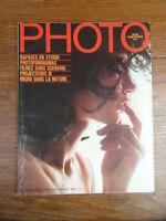 Revue Magazine vintage PHOTO Numero 12 Septembre 1968  Couv. Roberto Marturano