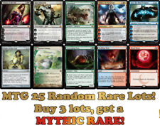 Magic the Gathering 25 Random All Rare Only MTG Cards Lot Mythic Planeswalkers