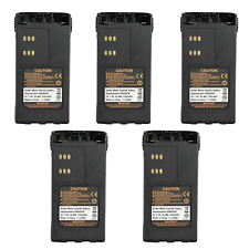 5*HNN9008 Battery For Motorola GP328 GP338 GP340 GP360 GP380 GP1280 Portable