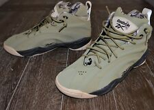 IN BOX REEBOK SHAQNOSIS OG  MEN'S SHOES SIZE 11.5 RETRO BASKETBALL CARGO GREEN