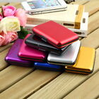 Mini Wallet Waterproof Aluminum Metal Case Holder for Business ID Credit Card#JH