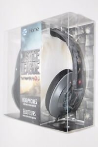 iHOME eKIDS DC COMICS JUSTICE LEAGUE OVER THE EAR HEADPHONES W/ MICROPHONE NEW