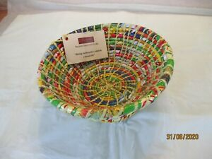 beni dish recycled from crisp wrappers
