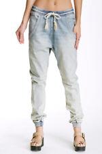 NWT One Teaspoon Jeans Super Trackies Light Wash Joggers Pants X-Small
