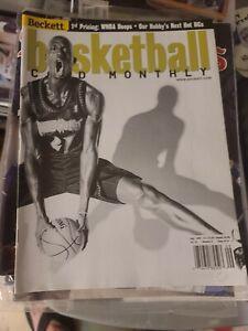 Beckett Basketball Card Monthly September 1999 TimberWolves Kevin Garnett HOF