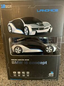 NEW! Landmice BMW i8 Concept Wireless Computer Mouse - OEM! RARE! 80292352624