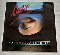 ANTONELLO VENDITTI LP CUORE 33 GIRI VINYL 1984 ITALY HEINZ MUSIC HLP 2370 NM/NM