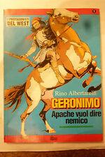 I PROTAGONISTI DEL  WEST N 1 - GERONIMO - HOBBY & WORK