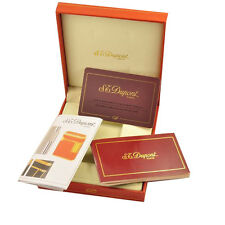 Red Cigarette Lighter Gift Box for Memorial Dupunt Lighters L2 with Manual