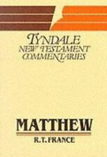 Gospel According to Matthew: Introduction and Commentary (Tyndale New Testament