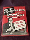 Handy Andy Mister Peepers microscope set - Wally Cox 1950's